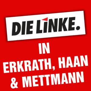 Logo Die Linke Erkrath, Haan, Mettmann