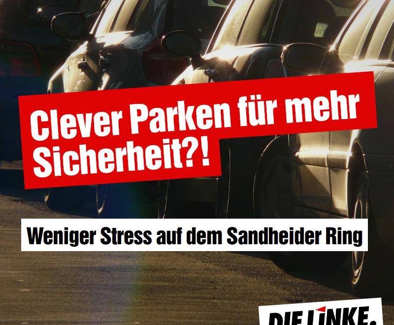 Clever Parken am südlichen Sandheider Ring